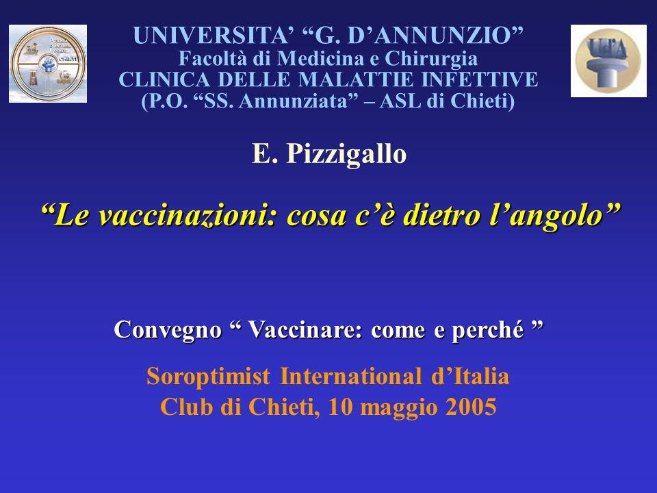 Le vaccinazioni: cosa c'è dietro l'angolo