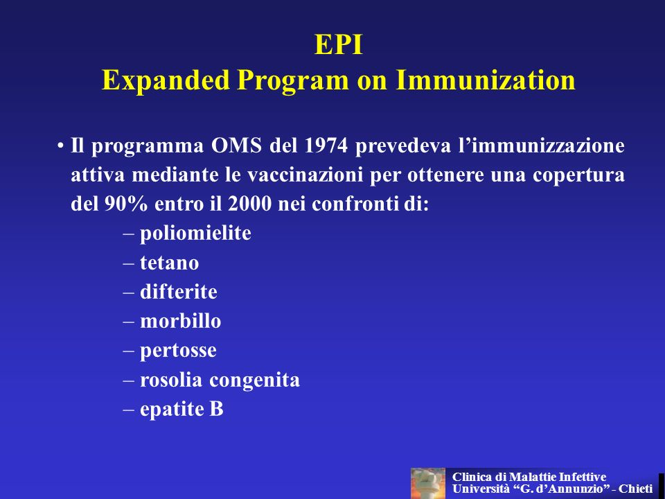 Expanded Program on Immunization