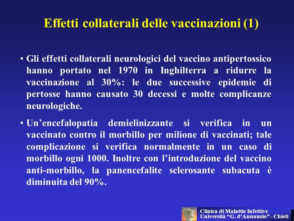 Effetti collaterali delle vaccinazioni (1)