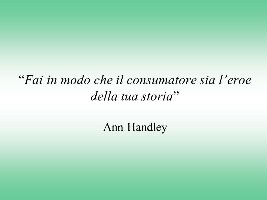 Fai in modo che il consumatore sia l'eroe della tua storia Ann Handley