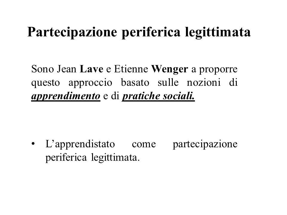 Partecipazione periferica legittimata