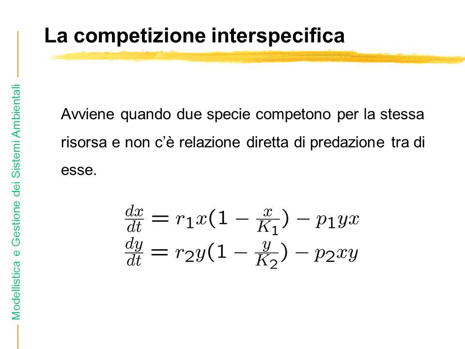 La competizione interspecifica