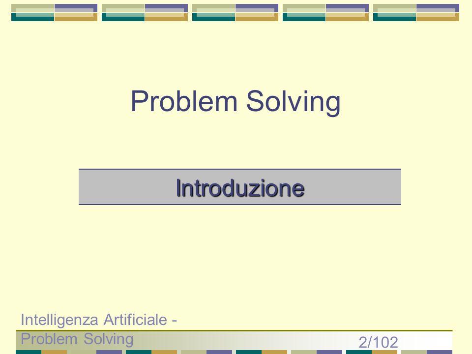 Problem Solving Introduzione