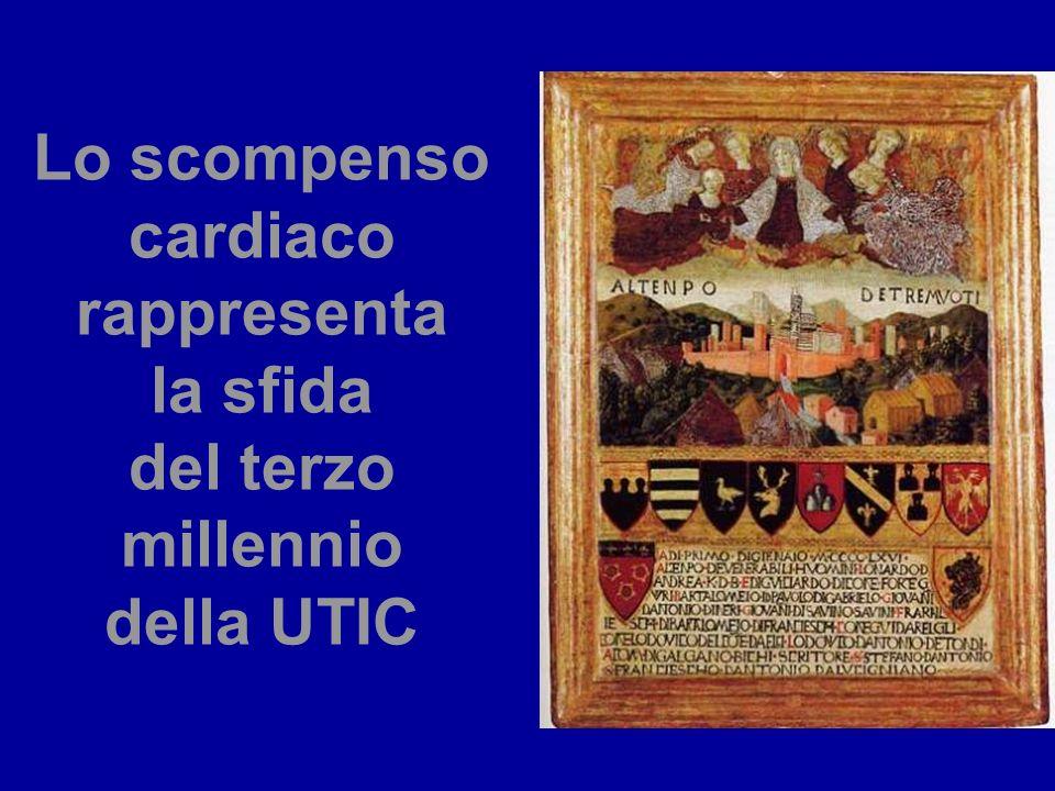 Lo scompenso cardiaco rappresenta la sfida del terzo millennio della UTIC