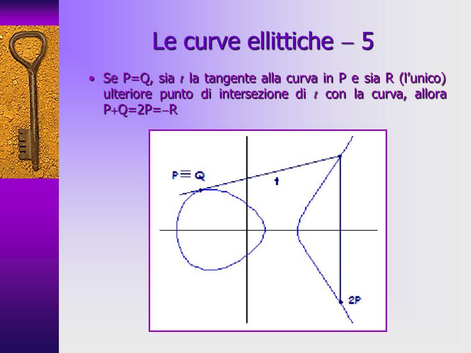 Le curve ellittiche  5