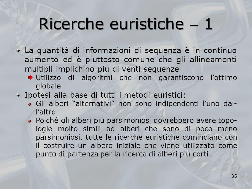 Ricerche euristiche  1