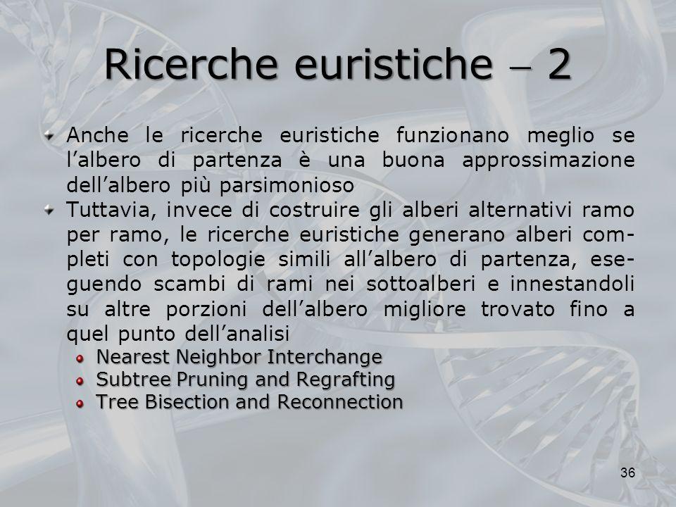 Ricerche euristiche  2