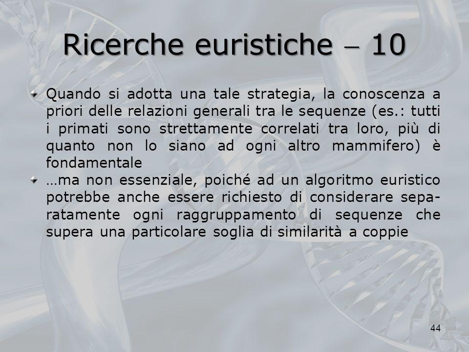 Ricerche euristiche  10