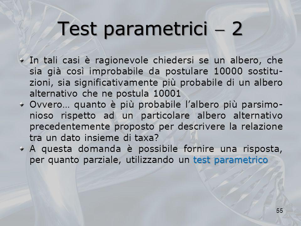 Test parametrici  2