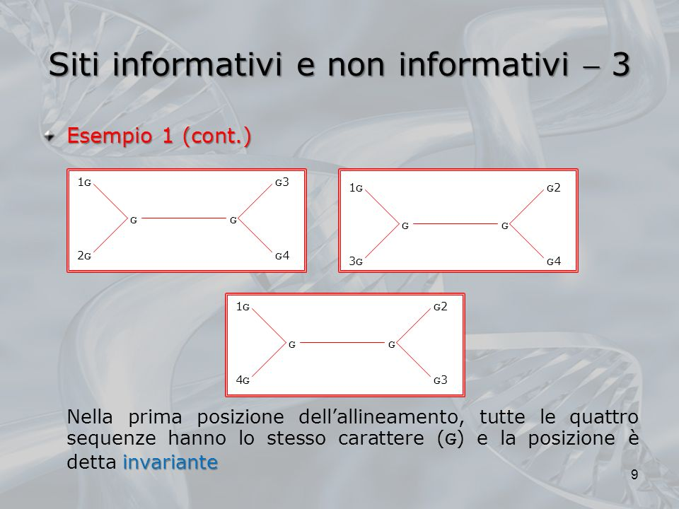 Siti informativi e non informativi  3