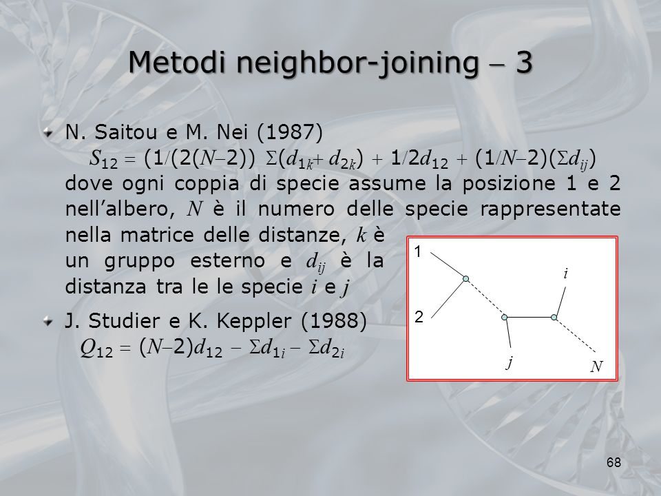 Metodi neighbor-joining  3