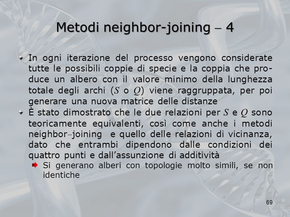 Metodi neighbor-joining  4
