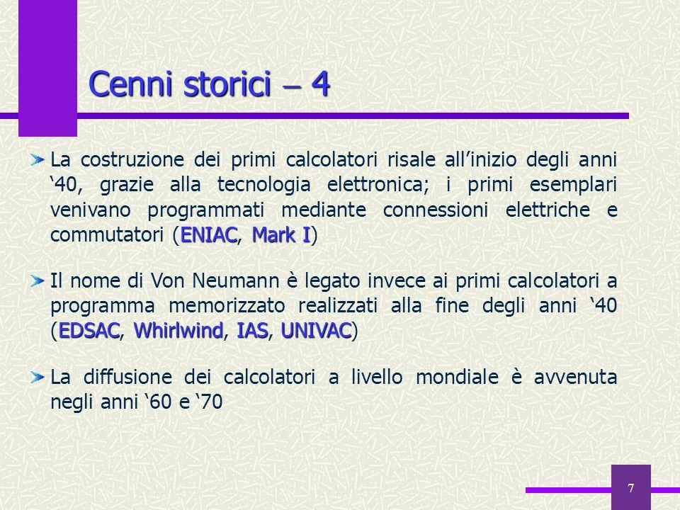 Cenni storici  4