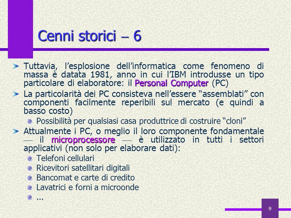 Cenni storici  6