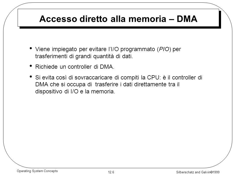 Accesso diretto alla memoria – DMA