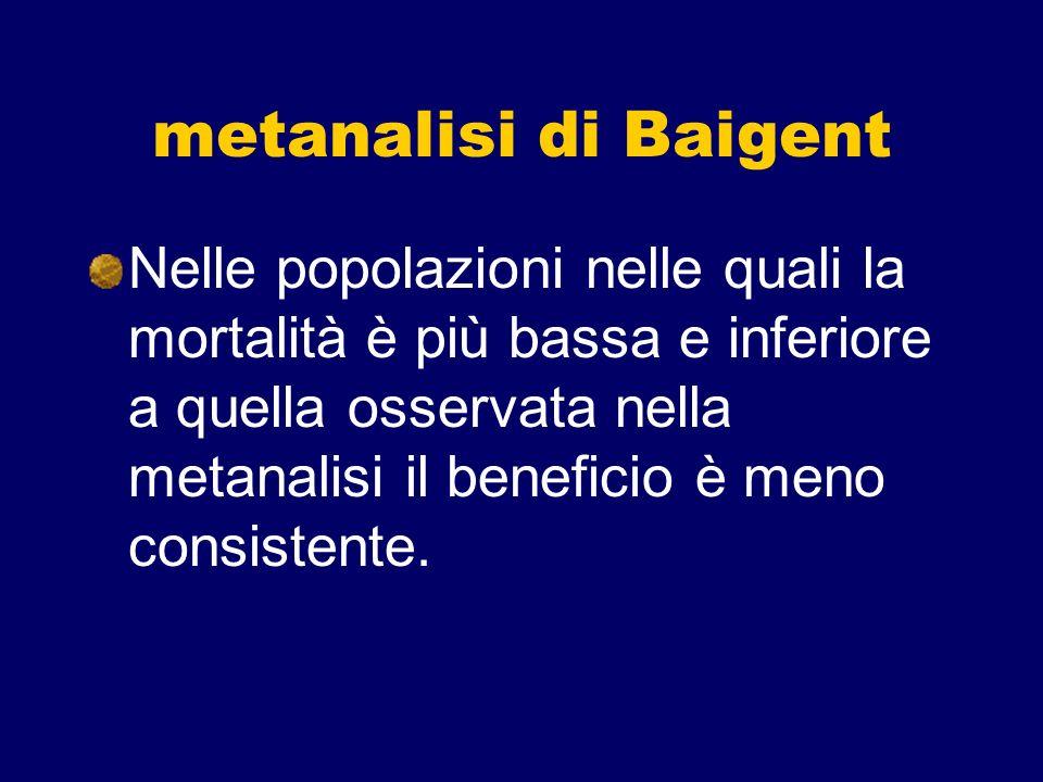 metanalisi di Baigent