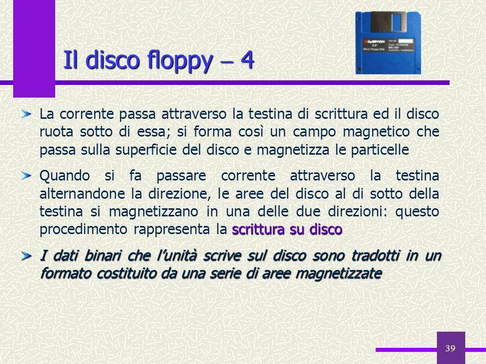 Il disco floppy  4