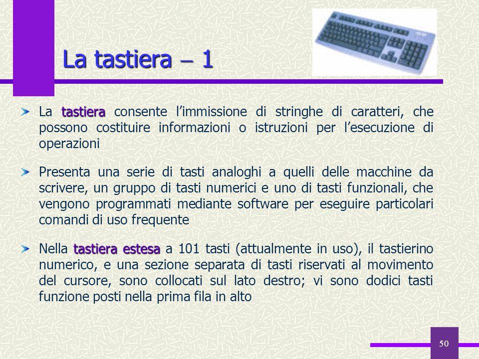 La tastiera  1