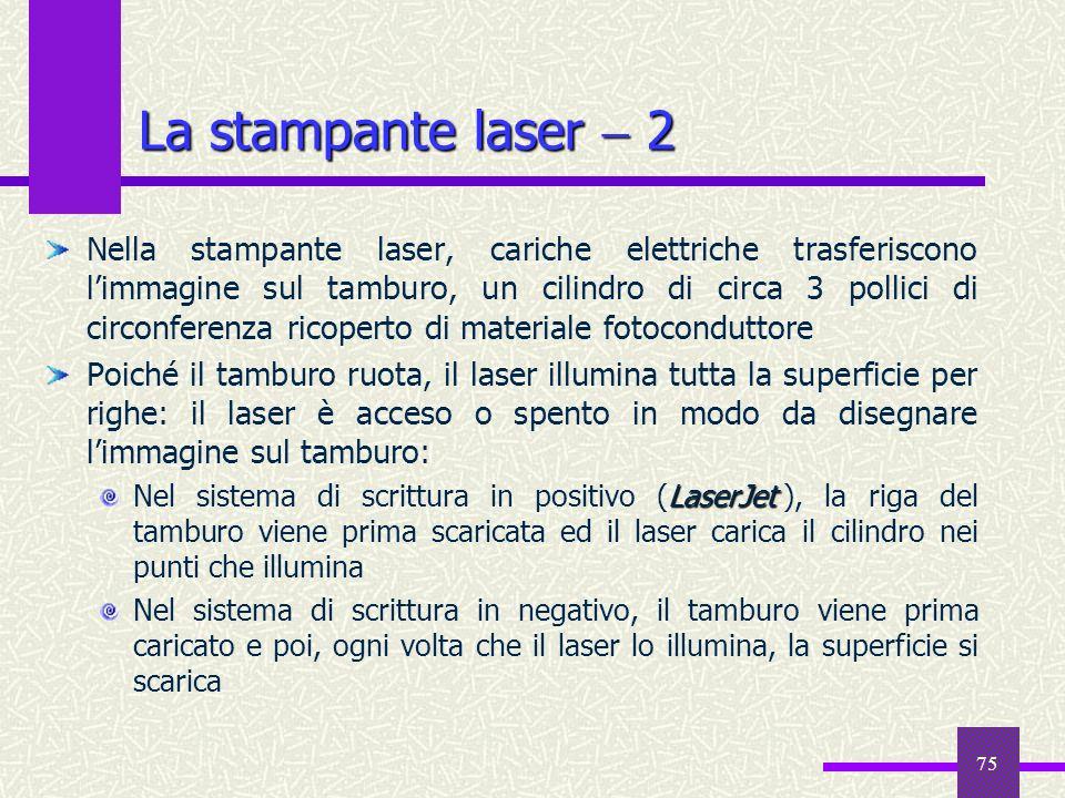 La stampante laser  2