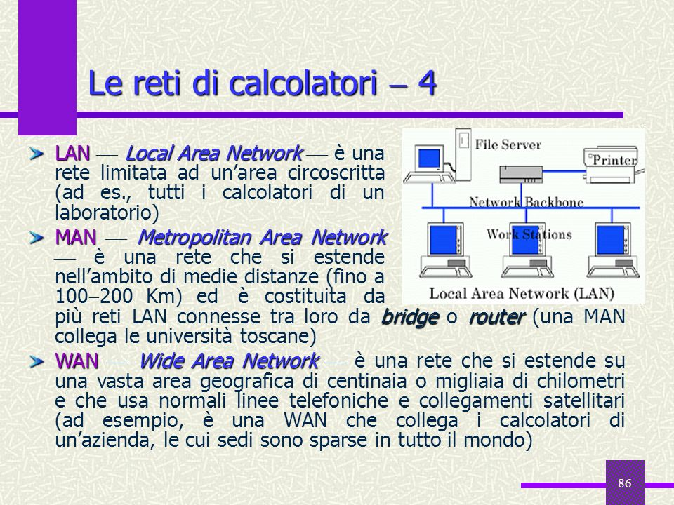 Le reti di calcolatori  4