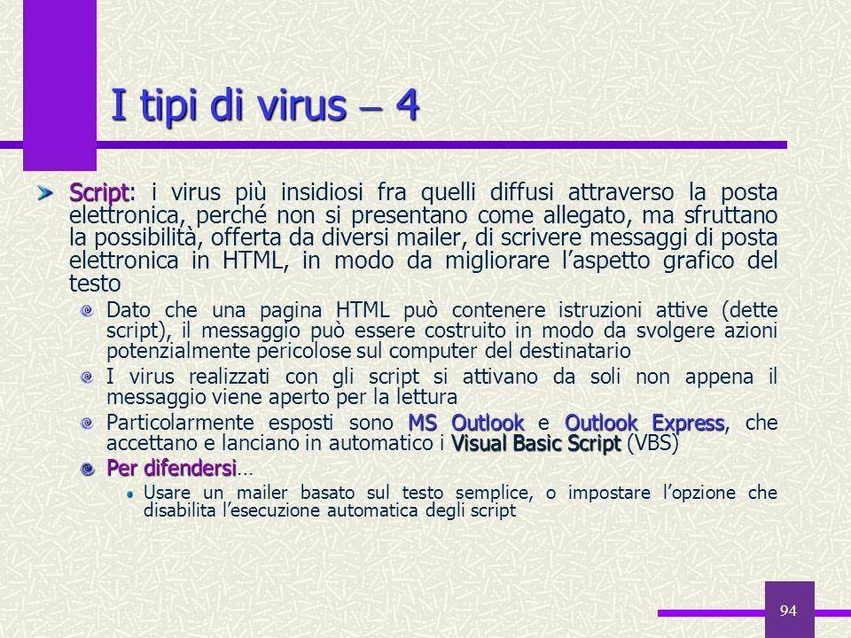 I tipi di virus  4