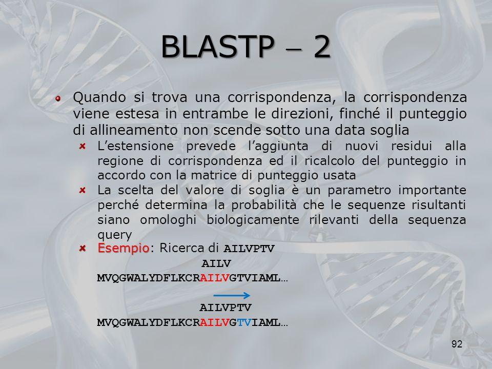 BLASTP  2