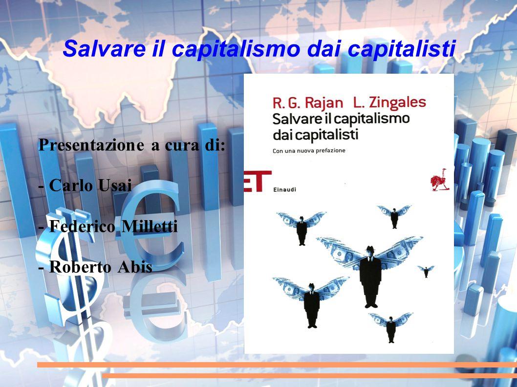 Salvare il capitalismo dai capitalisti