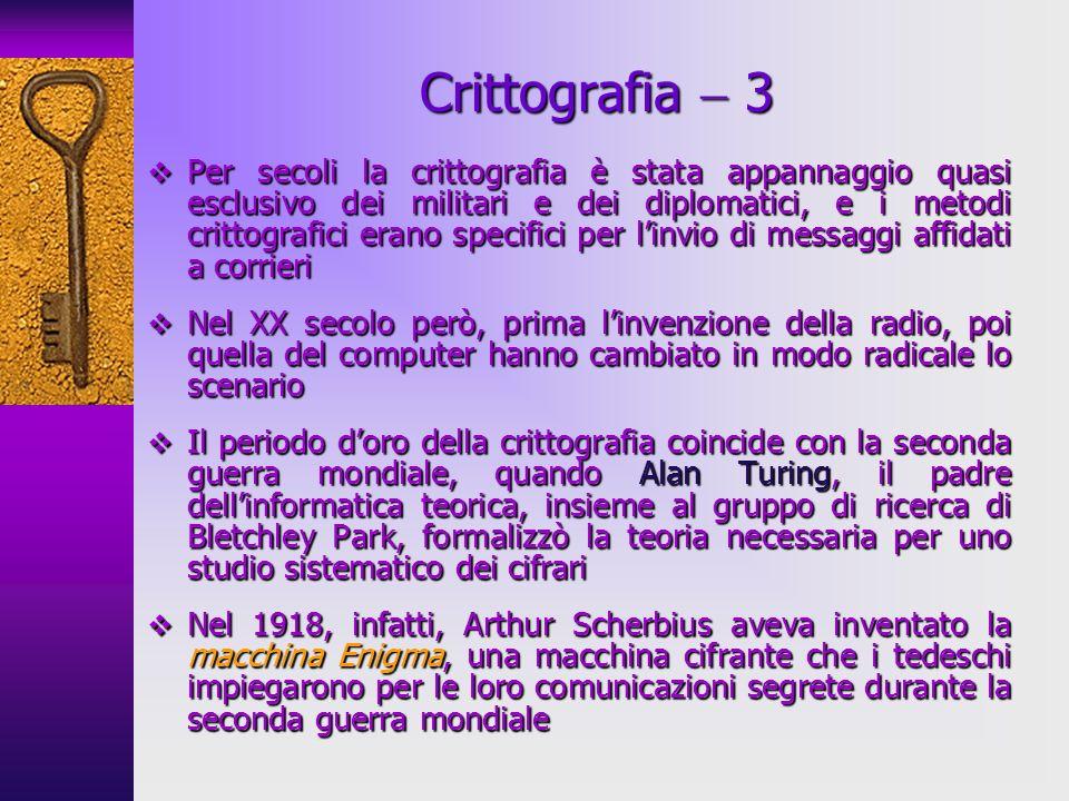 Crittografia  3