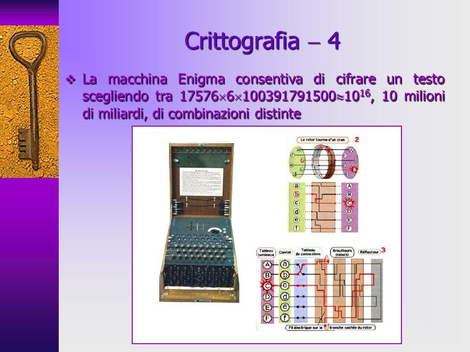 Crittografia  4
