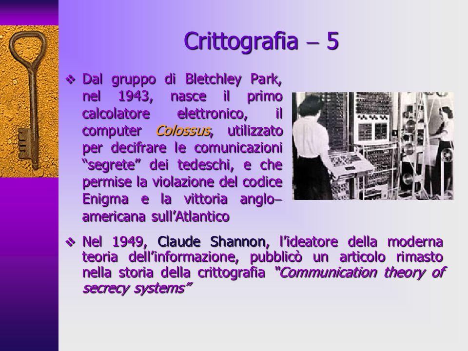 Crittografia  5