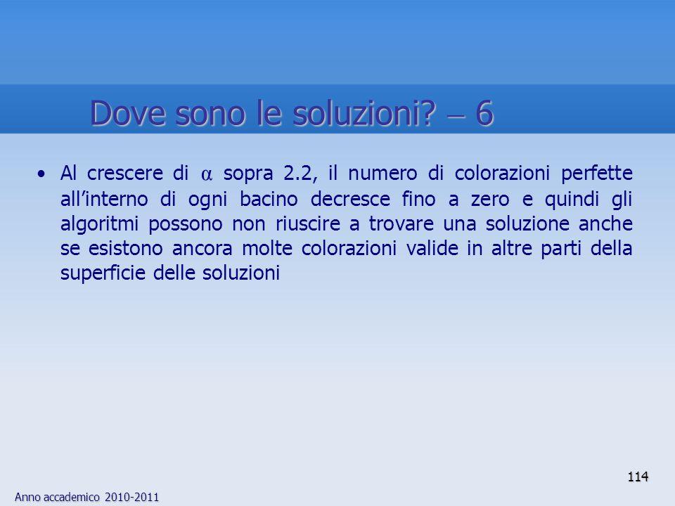 Dove sono le soluzioni  6