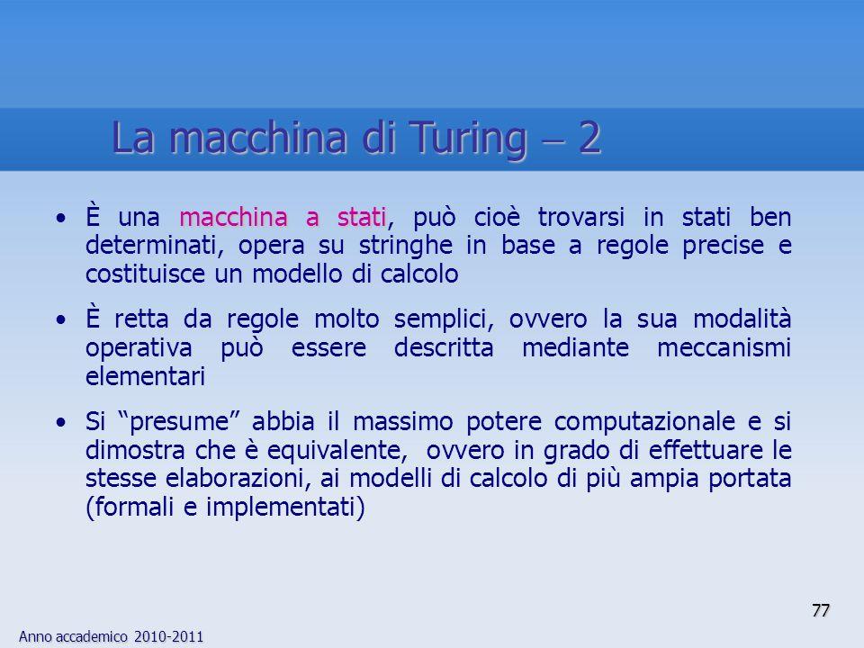 La macchina di Turing  2