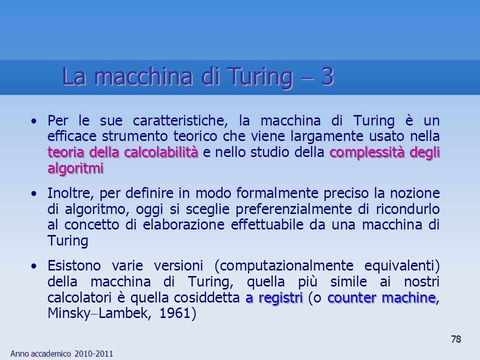 La macchina di Turing  3