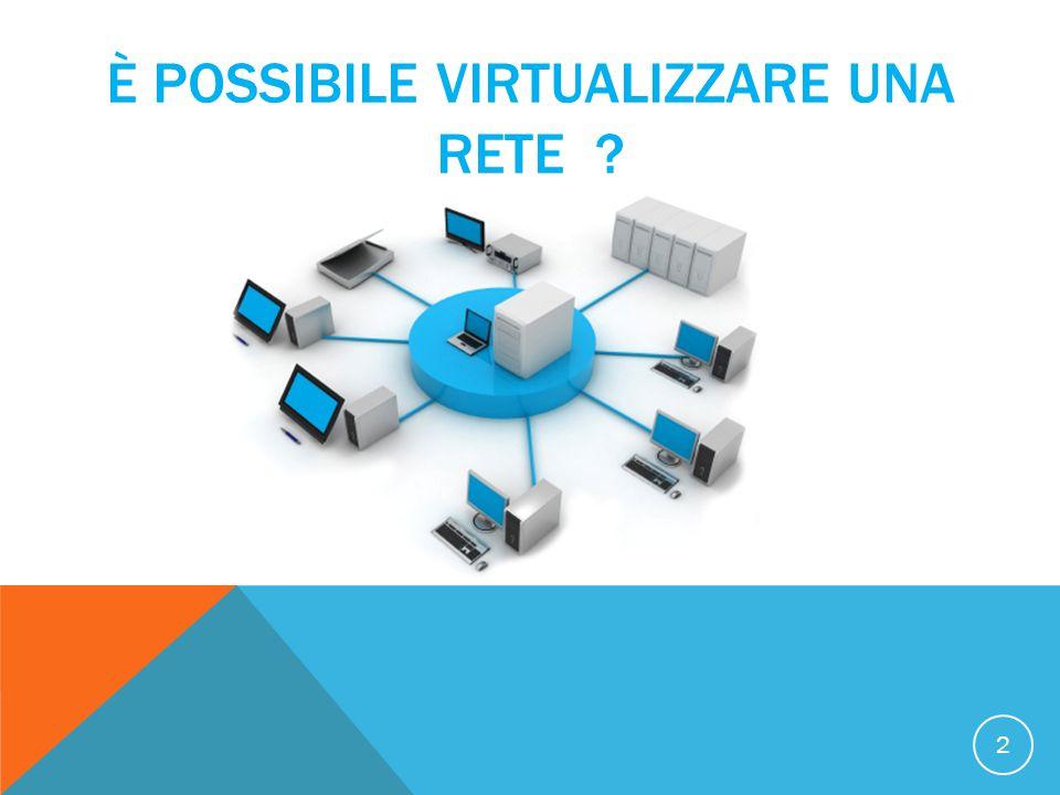 È possibile virtualizzare una rete