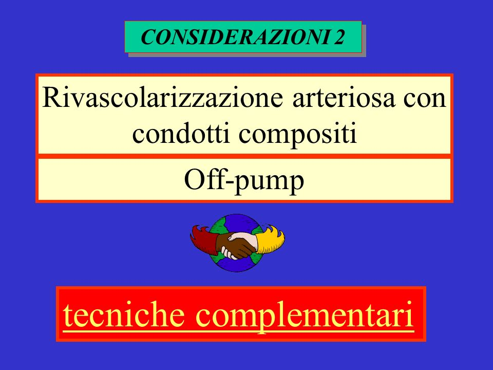 Rivascolarizzazione arteriosa con condotti compositi