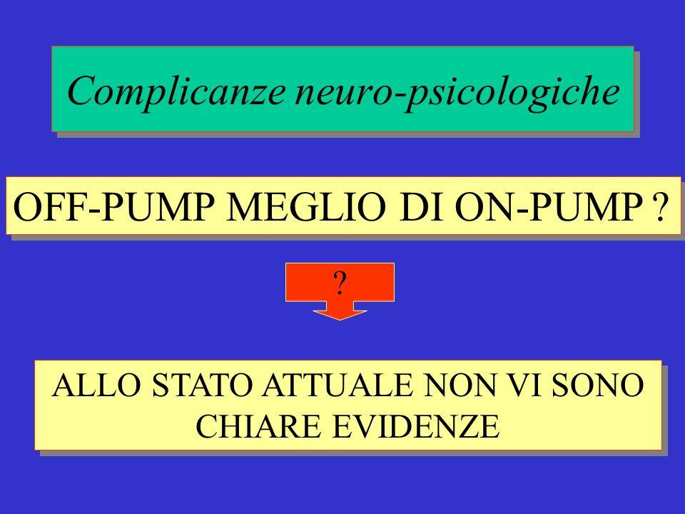 Complicanze neuro-psicologiche
