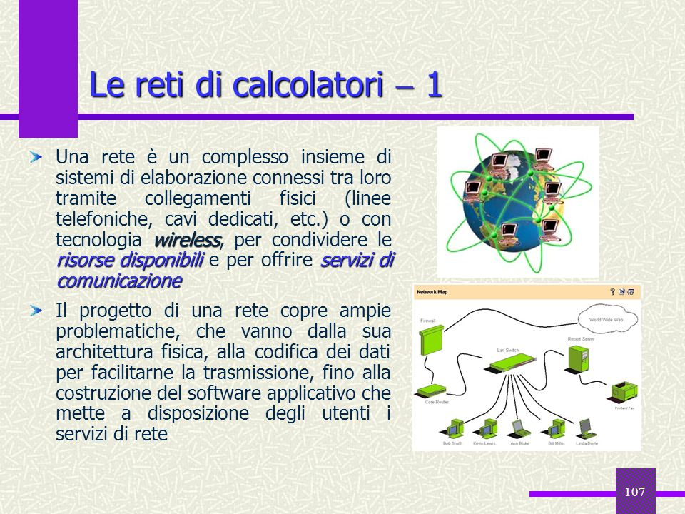 Le reti di calcolatori  1