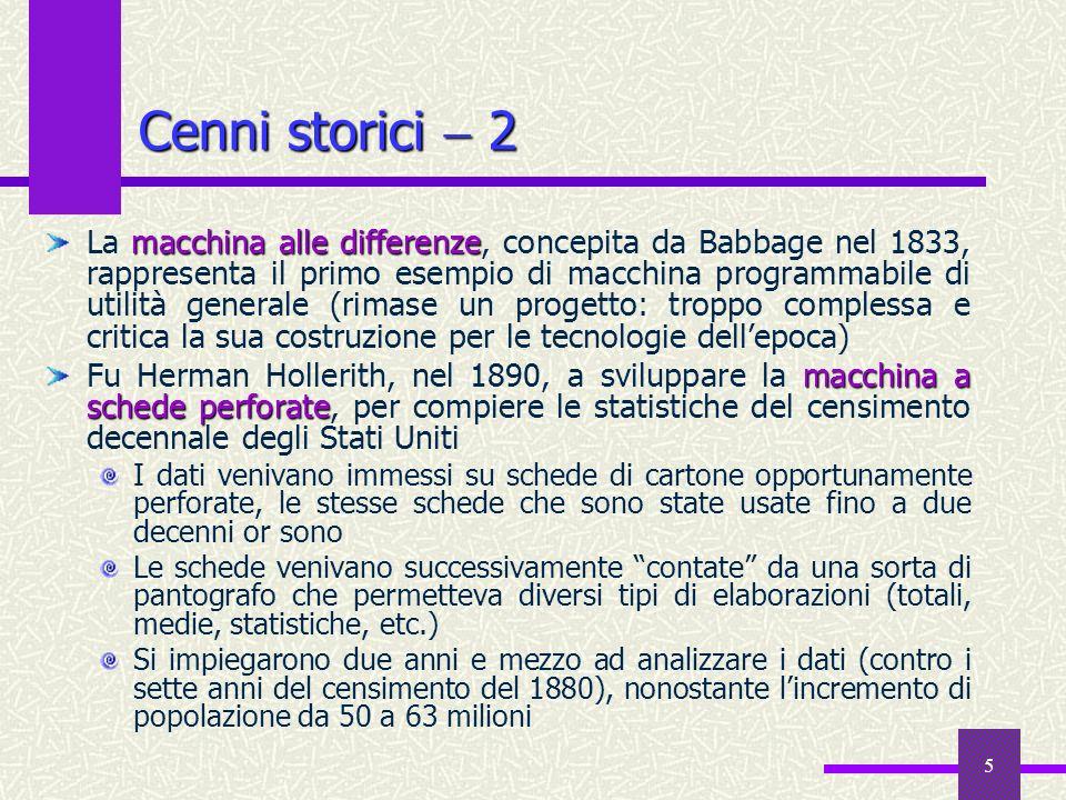 Cenni storici  2