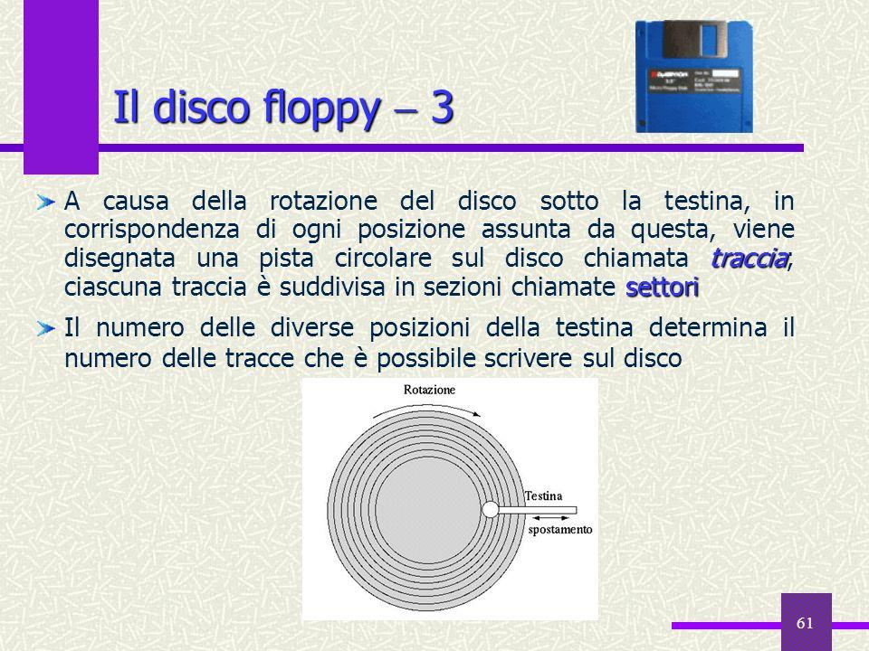 Il disco floppy  3