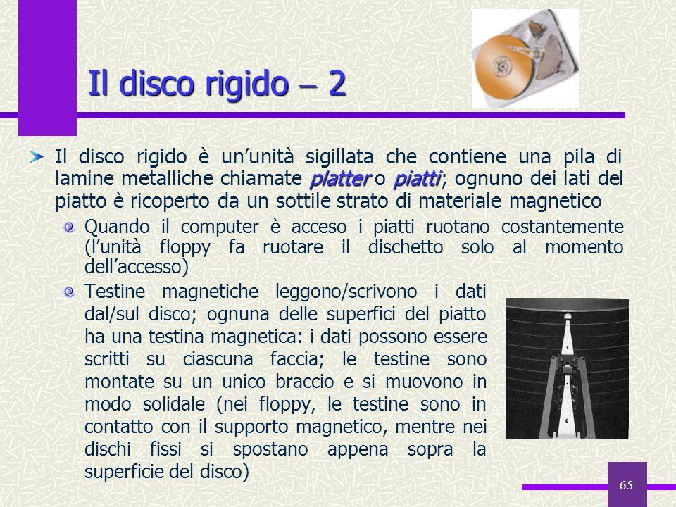 Il disco rigido  2