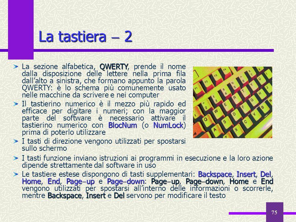 La tastiera  2