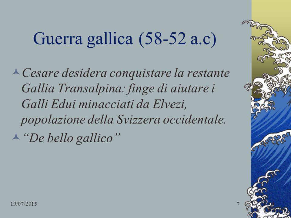 Guerra gallica (58-52 a.c)