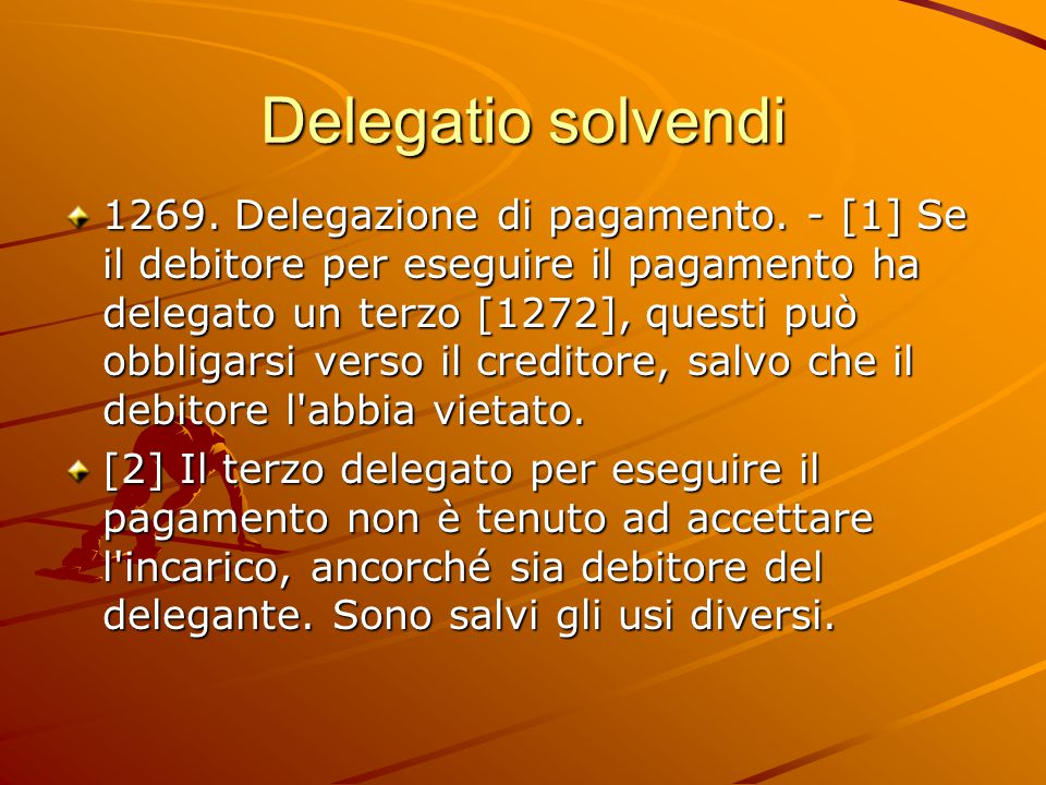 Delegatio solvendi