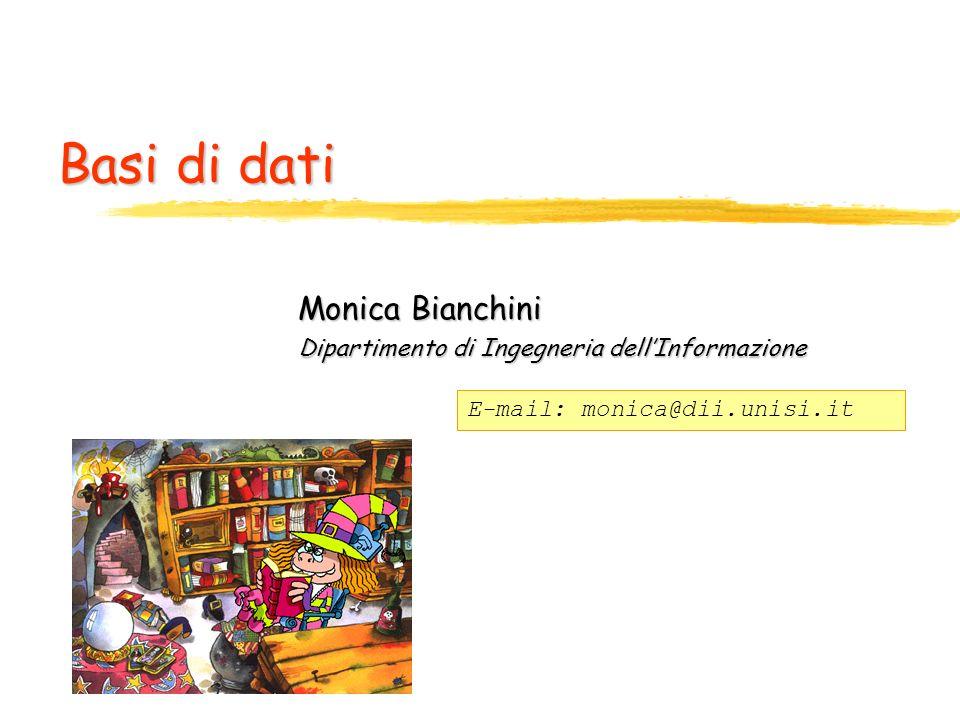 Monica Bianchini Dipartimento di Ingegneria dell'Informazione