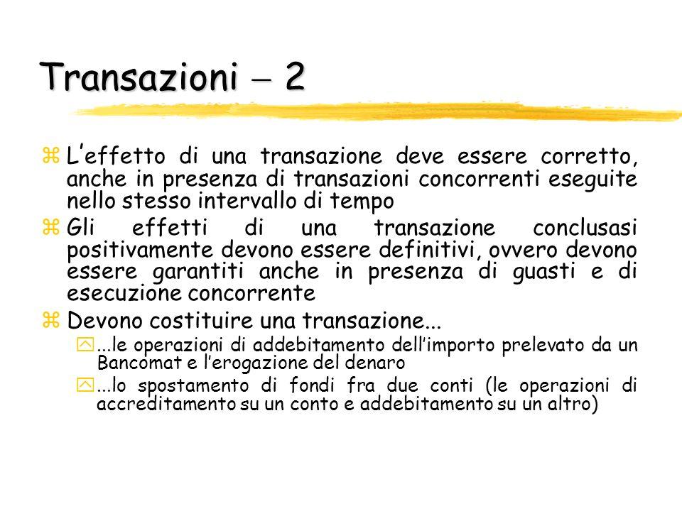 Transazioni  2