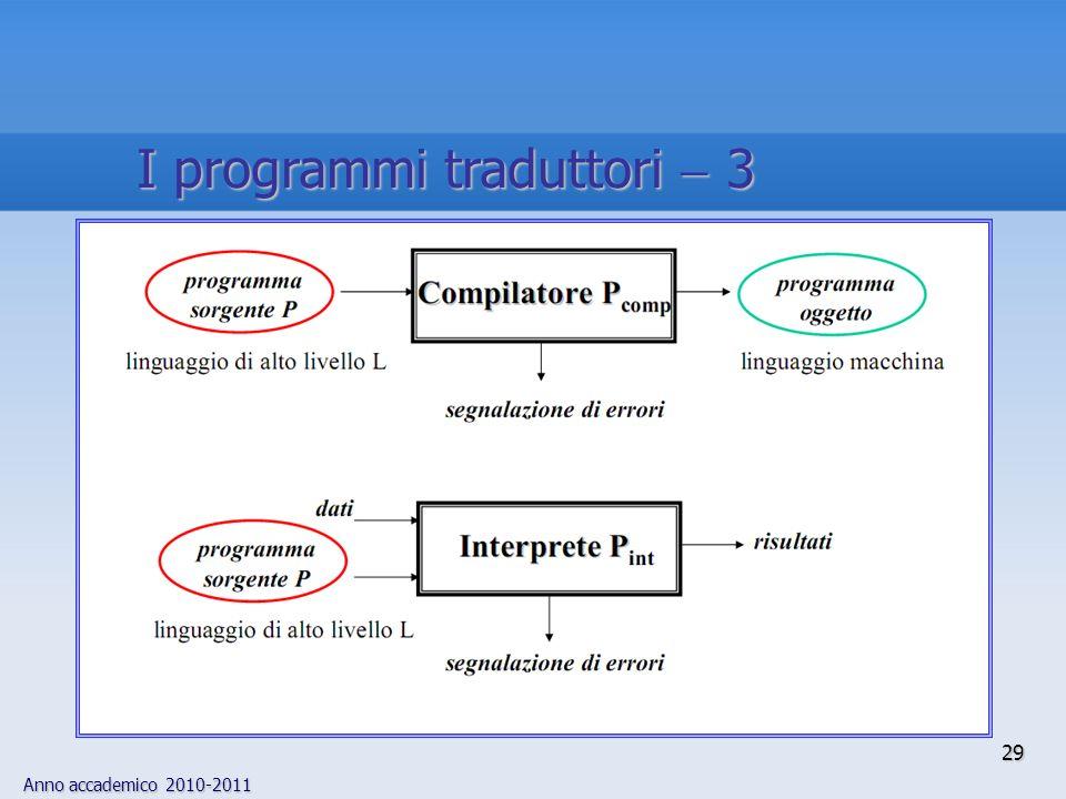 I programmi traduttori  3