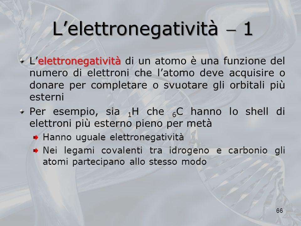 L'elettronegatività  1