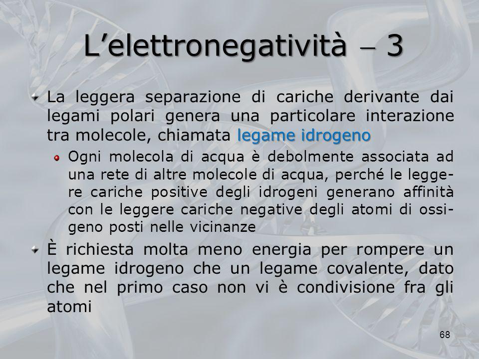 L'elettronegatività  3