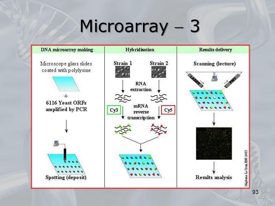 Microarray  3