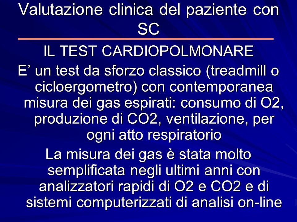 Valutazione clinica del paziente con SC